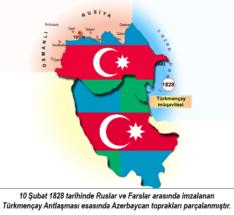 Bütöv Azərbaycan xəritəsi