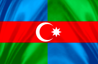 South Azerbaijan Flag