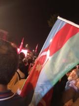 پرچم آذربایجان جنوبی - استانبول