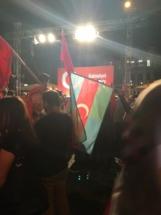 South Azerbaijan Flag - Istanbul