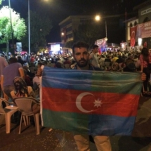 South Azerbaijan Flag - Afyon, Turkey